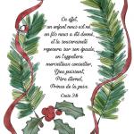 Christmas Greenery - Bible verse