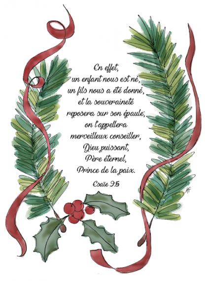 Christmas Greenery.Christmas Greenery Bible Verse