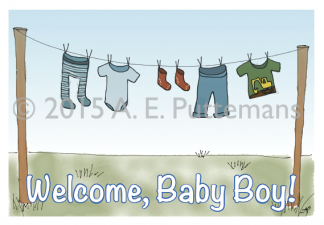 Clothesline - Baby Boy
