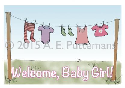 Clothesline - Baby Girl