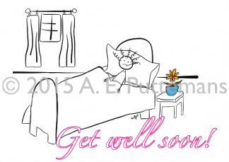 Get Well Soon - Girl
