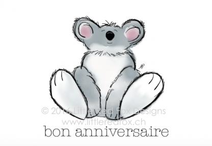 Birthday Koala