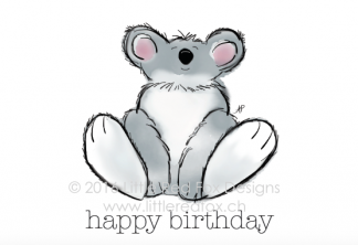 Happy birthday - koala