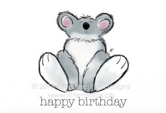Happy birthday - koala