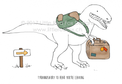 Dino sorry you're leaving