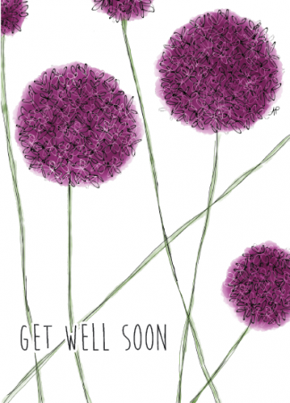 Get Well Soon Allium