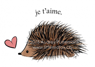 Love you - Hedgehog (FR)