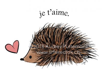 Love you - Hedgehog (FR)