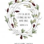 Best Wishes Wreath